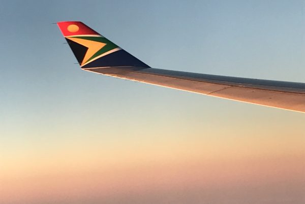 En route to Africa to help a global development NGO to determine its brand's purpose